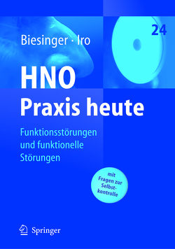 Funktionsstörungen und funktionelle Störungen von Biesinger,  E., Iro,  Heinrich