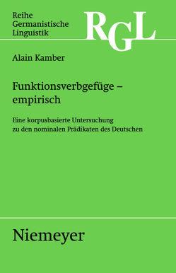 Funktionsverbgefüge – empirisch von Kamber,  Alain