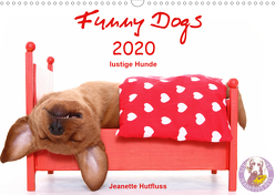 Funny Dogs (Wandkalender 2020 DIN A3 quer) von Hutfluss,  Jeanette