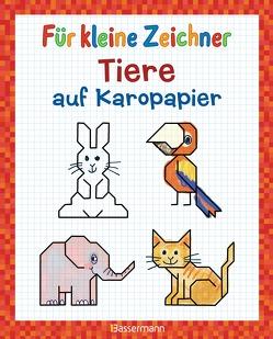 Für kleine Zeichner – Tiere auf Karopapier von Pautner,  Norbert