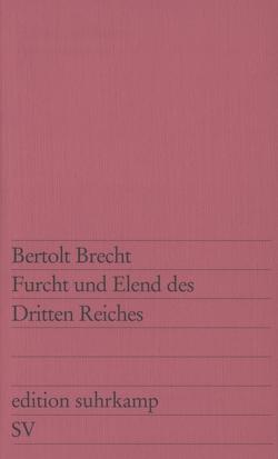 Furcht und Elend des Dritten Reiches von Brecht,  Bertolt