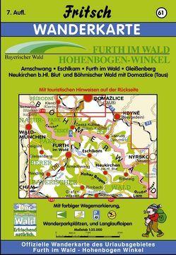 Furth im Wald, Hohen-Bogen-Winkel von Fritsch Landkartenverlag