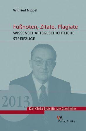 Fußnoten, Zitate, Plagiate von Nippel,  Wilfried