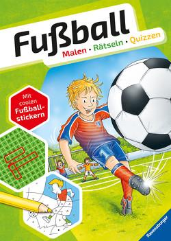 Fußball. Malen – Rätseln – Quizzen von Bunse,  Rolf, Honnen,  Falko, Kiefer,  Philip, Lohr,  Stefan