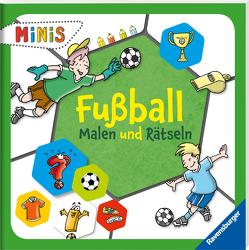 Fußball – Malen und Rätseln von Bunse,  Rolf, Honnen,  Falko