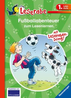 Fußballabenteuer zum Lesenlernen von Dietl,  Erhard, Gebhard,  Wilfried, Leopé, Ondracek,  Claudia
