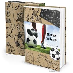 Fußballbuch MEINE SAISON (Hardcover A5, Blankoseiten)