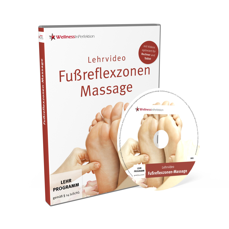 DVD/Bluray Fußreflexzonen-Massage (Lehrvideo) | Für Anfänger und Pr