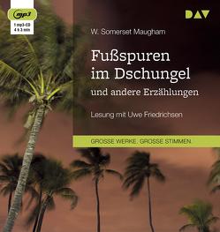 Fußspuren im Dschungel und andere Erzählungen von Friedrichsen,  Uwe, Maugham,  W. Somerset, Torberg,  Friedrich, Zoff,  Mimi