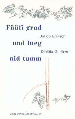 Füüfi grad und lueg nid tumm von Brütsch,  Jakob, Richli,  Alfred
