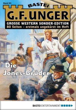 G. F. Unger Sonder-Edition 63 – Western von Unger,  G. F.