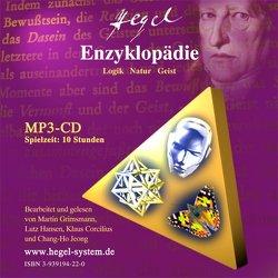 G.W.F. Hegel: Die Enzyklopädie (Logik,Natur,Geist); Hörbuch, 10 Std, 1 MP3-CD von Grimsmann,  Martin, Hansen,  Lutz