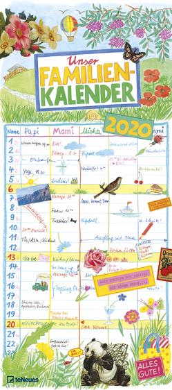 Gabi Kohwagner Unser Familienkalender 2020