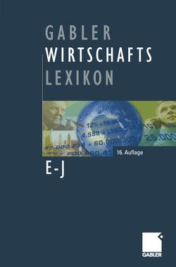 Gabler Wirtschafts Lexikon von Alisch,  Katrin, Arentzen,  Ute, Winter,  Eggert