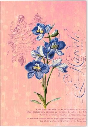Gärten der Künstler Klappkarte Motiv Blaue Orchidee