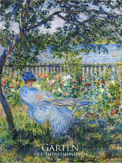 Gärten des Impressionismus 2021 – Bild-Kalender 42×56 cm – Kunst-Kalender – Wand-Kalender – Malerei – Alpha Edition