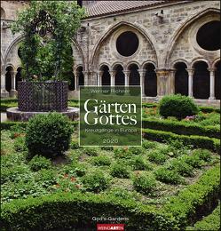 Gärten Gottes Kalender 2020 von Richner,  Werner, Weingarten