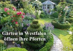 Gärten in Westfalen öffnen ihre Pforten (Wandkalender 2018 DIN A2 quer) von Rusch - www.w-rusch.de,  Winfried