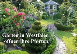 Gärten in Westfalen öffnen ihre Pforten (Wandkalender 2018 DIN A3 quer) von Rusch - www.w-rusch.de,  Winfried