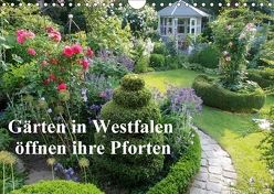 Gärten in Westfalen öffnen ihre Pforten (Wandkalender 2018 DIN A4 quer) von Rusch - www.w-rusch.de,  Winfried