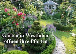Gärten in Westfalen öffnen ihre Pforten (Wandkalender 2019 DIN A2 quer) von Rusch - www.w-rusch.de,  Winfried