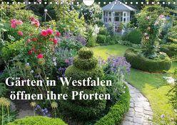 Gärten in Westfalen öffnen ihre Pforten (Wandkalender 2019 DIN A4 quer) von Rusch - www.w-rusch.de,  Winfried