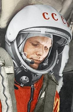 Gagarin – 12. April 1961 von Schwartz,  Matthias