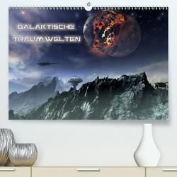 Galaktische TraumweltenAT-Version (Premium, hochwertiger DIN A2 Wandkalender 2021, Kunstdruck in Hochglanz) von Schröder,  Karsten