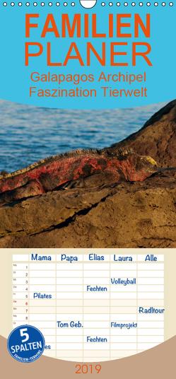 Galapagos Archipel- Faszination Tierwelt – Familienplaner hoch (Wandkalender 2019 , 21 cm x 45 cm, hoch) von Photo4emotion.com