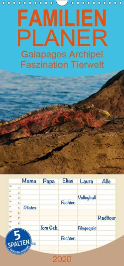 Galapagos Archipel- Faszination Tierwelt – Familienplaner hoch (Wandkalender 2020 , 21 cm x 45 cm, hoch) von Photo4emotion.com