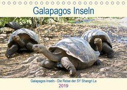 Galapagos Inseln – Die Reise der SY Shangri La (Tischkalender 2019 DIN A5 quer) von Friedrich,  Christine
