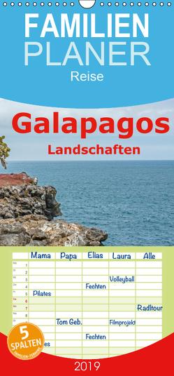 Galapagos- Landschaften – Familienplaner hoch (Wandkalender 2019 , 21 cm x 45 cm, hoch) von Leonhardy,  Thomas