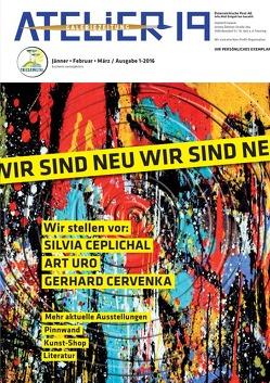 Galeriezeitung / Atelier19 von Bauer,  Otto, Felder,  Paul