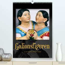 Galionsfiguren (Premium, hochwertiger DIN A2 Wandkalender 2021, Kunstdruck in Hochglanz) von Reichenauer,  Maria
