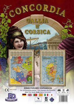 Gallia & Corsica – Erweiterung zu Concordia von Gerdts,  Mac