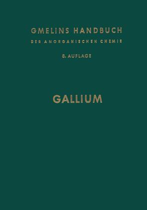 Gallium von Meyer,  R. J.