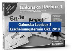 Galonska Lesebox 3 von Galonska,  Susanne