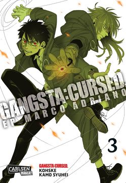 Gangsta:Cursed. – EP_Marco Adriano 3 von Bartholomäus,  Gandalf, Kamo,  Syuhei, Kohske
