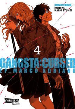 Gangsta:Cursed. – EP_Marco Adriano 4 von Bartholomäus,  Gandalf, Kamo,  Syuhei, Kohske