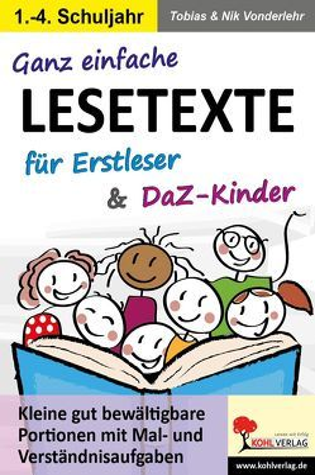 Ganz einfache Lesetexte für Erstleser und DaZ-Kinder von Dinges-Vonderlehr,  Nik