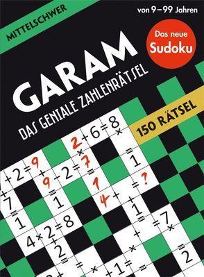GARAM: Das geniale Zahlenrätsel – mittelschwer von Bounkeu Safo,  Ramsès
