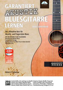 Garantiert Akustik Bluesgitarre lernen von Saitenhieb,  Andi