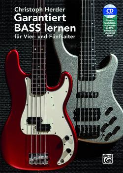 Garantiert Bass lernen von Herder,  Christoph