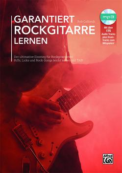 Garantiert Rockgitarre lernen von Collomb,  Rob