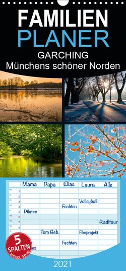GARCHING – Münchens schöner Norden – Familienplaner hoch (Wandkalender 2021 , 21 cm x 45 cm, hoch) von don.raphael@gmx.de