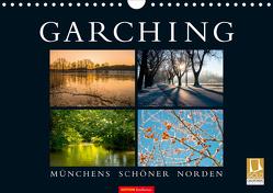 GARCHING – Münchens schöner Norden (Wandkalender 2021 DIN A4 quer) von don.raphael@gmx.de