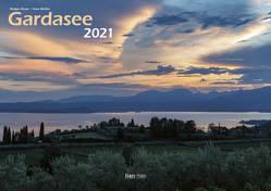 Gardasee 2021 Bildkalender A3 cm quer, spiralgebunden von Klaes,  Holger
