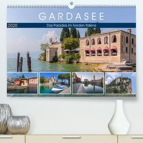 Gardasee, das Paradies im Norden Italiens (Premium, hochwertiger DIN A2 Wandkalender 2020, Kunstdruck in Hochglanz) von Kruse,  Joana