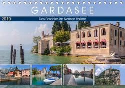 Gardasee, das Paradies im Norden Italiens (Tischkalender 2019 DIN A5 quer) von Kruse,  Joana