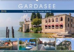 Gardasee, das Paradies im Norden Italiens (Wandkalender 2019 DIN A2 quer) von Kruse,  Joana